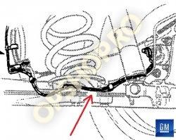 Piese Opel CABLAJ ABS SPATE 90413719 GM 1295281 OPEL ASTRA F KADETT E