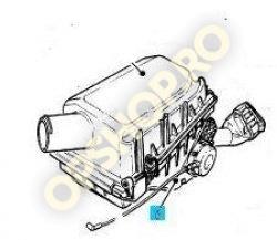 Piese Opel CARCASA INFERIOARA FILTRU AER OPEL VECTRA A 1.6