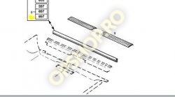 Piese Opel CHEDER ORNAMENT IMBRACAMINTE PRAG INTERIOR NEGRU 222004 OPEL OMEGA A SENATOR B