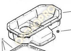 Piese Opel CORP BAIE ULEI OPEL VECTRA B X17TD
