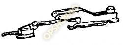 Piese Opel GHIDAJ TRAPA LATERAL STANGA ASCONA C KADETT E 90186299 GM