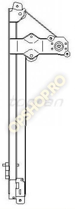 Piese Opel MACARA GEAM USA FATA STANGA OPEL VIVARO