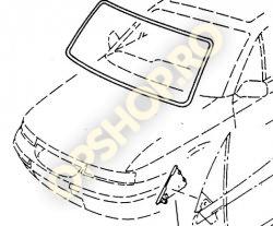 Piese Opel CHEDER PARBRIZ CALIBRA 0110276 90369033