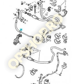 Piese Opel CONDUCTA DUBLA COMPRESOR AER CONDITIONAT CORSA B X10XE