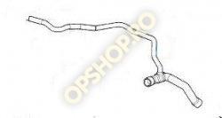 Piese Opel FURTUN RAMIFICAT RADIATOR VAS EXPANSIUNE MOTOR OPEL ASTRA G Y17DT