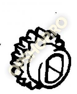 Piese Opel PINION POMPA ULEI ASCONA C CORSA A KADETTE E 13N 13S 12S 12NV 13NB 13SB 12SOHC 12STOHC C13N
