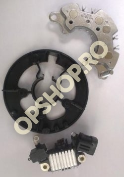 Piese Opel SET PLATOU, PUNTE DIODE SI RELEU ALTERNATOR OPEL ASTRA H 1.7 Z17DTH Z17DTL NEASAMBLATE